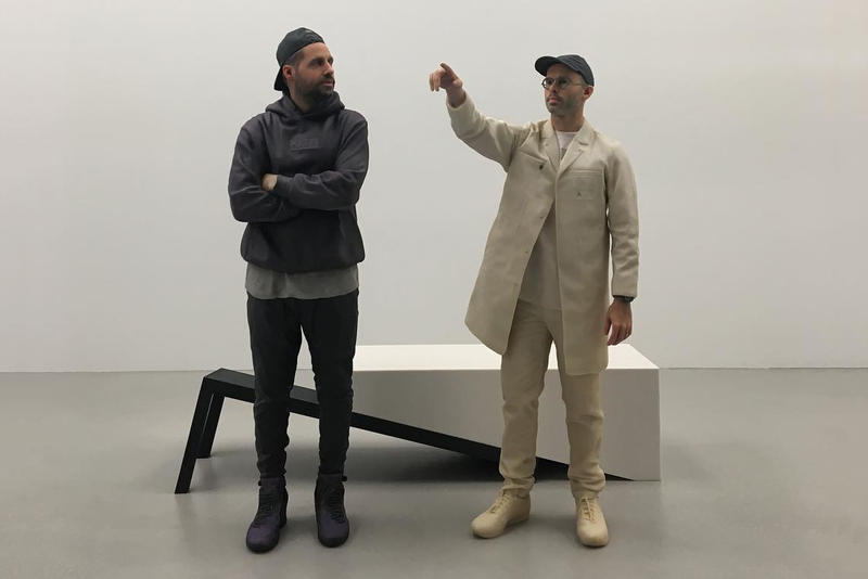 Daniel Arsham Ronnie Fieg Haroshi Art Artwork Exhibit