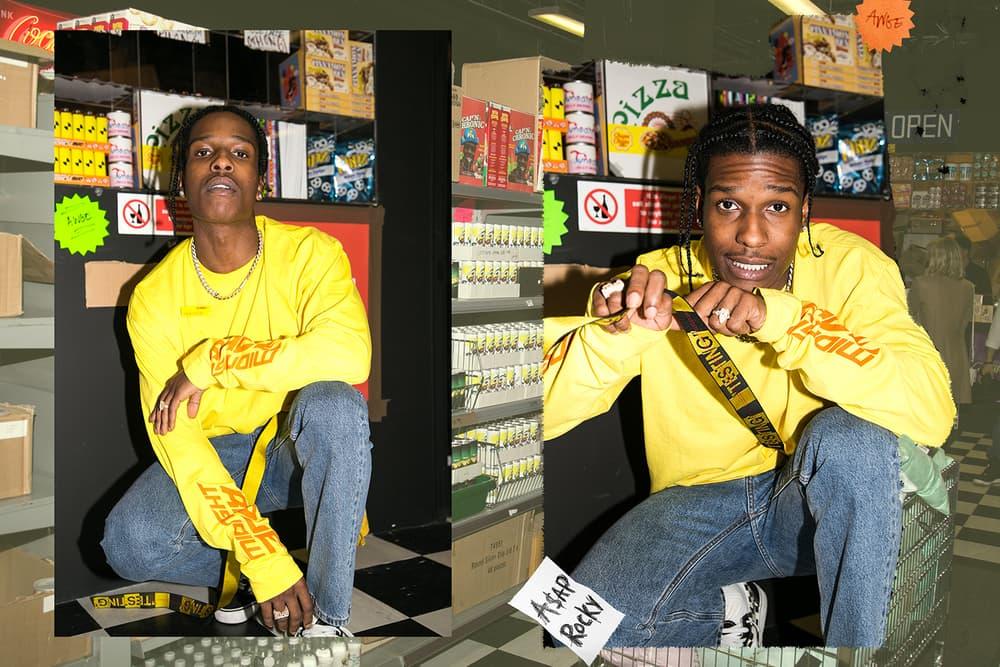 A$AP Rocky AWGE Selfridges London Bodega A$AP Mob ASAP GUE$$