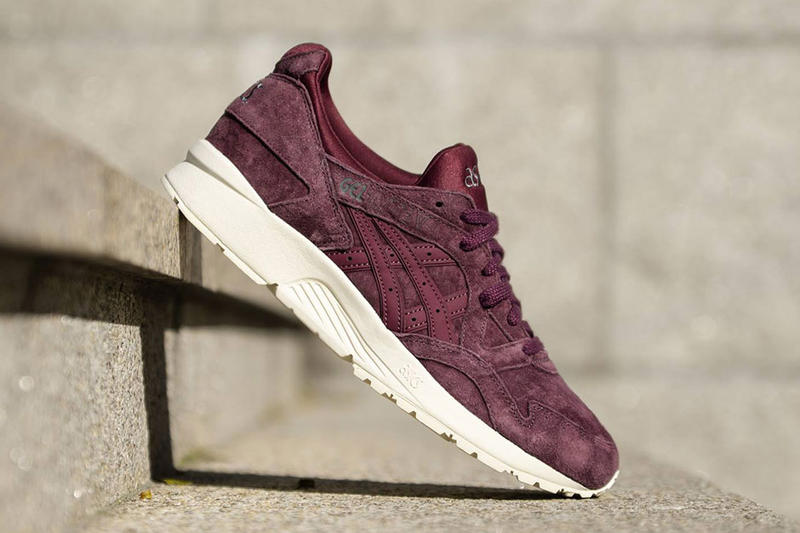 on sale 15429 884db ASICS GEL-Lyte V in Suede Eggplant & Taupe | HYPEBEAST