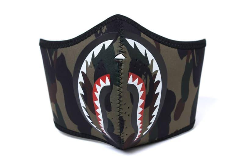 BAPE 1st Camo Shark Masks A Bathing Ape 2017 October 14 Release Date Info