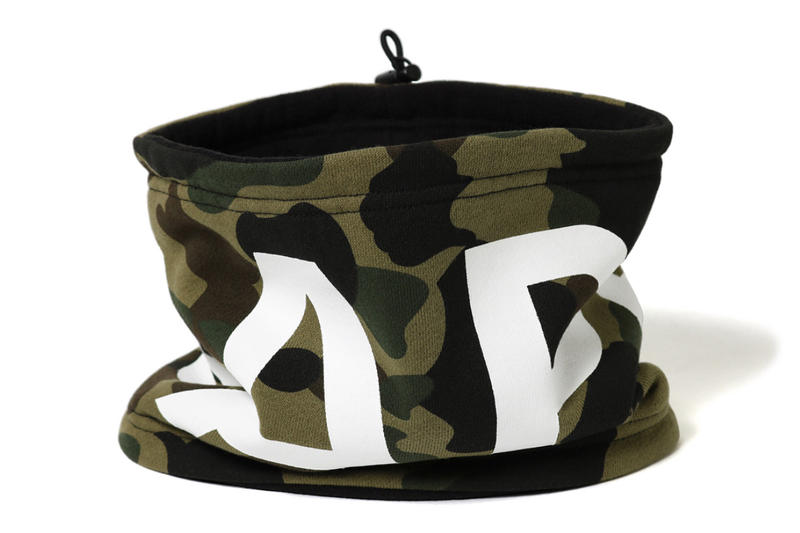BAPE A Bathing Ape 1st camo Neck Warmers