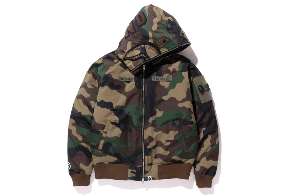 UNDEFEATED BAPE A Bathing Ape Fall/Winter 2017 Collection
