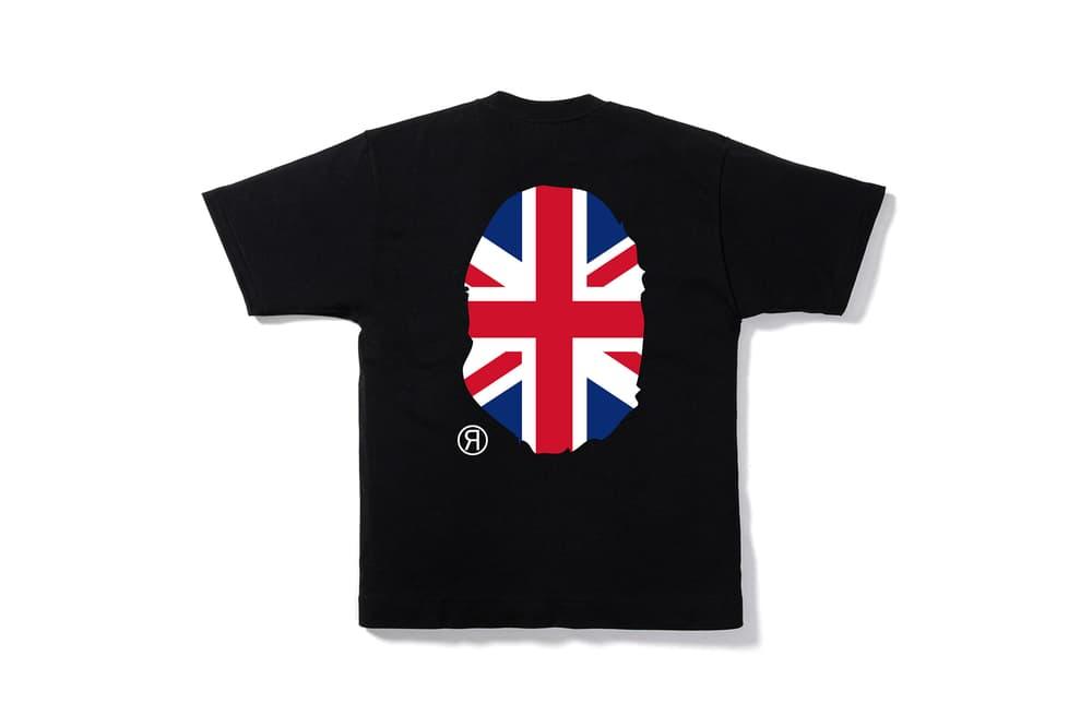"BAPE ""Our City"" British Themed Shark Hoodie Sk8thing Selfridges"