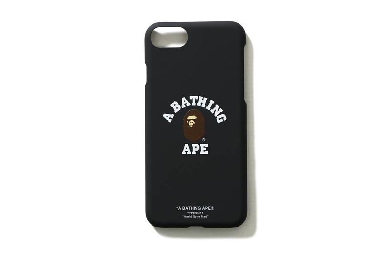 BAPE iPhone 8 Cases A Bathing Ape Apple Plus Black Shark 2017 October 28 Fall Release Date Info Shark Hoodies Ape Head PONR World Gone Mad