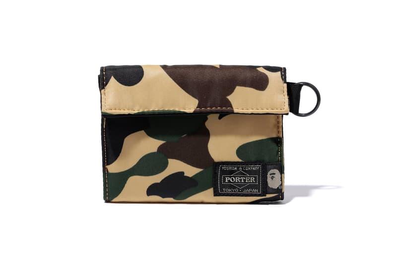 BAPE Porter Bags Luggage DJ Rucksack Sling Bag Wallet