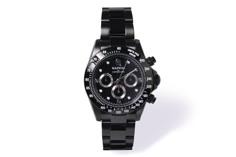 BAPE BAPEX TYPE-1 TYPE-3 2017 Fall Collection A BATHING APE watches timepieces wristwatches time rolex camouflage camo