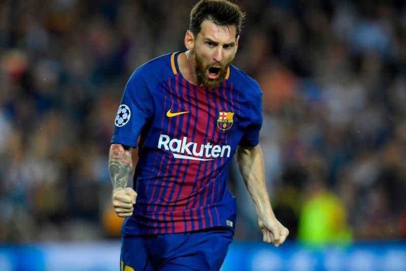 FC Barcelona Lionel Messi $100 Million USD Bonus Contract Offer Soccer Football