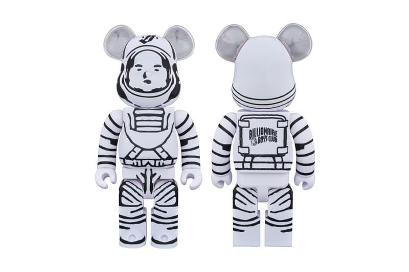 Billionaire Boys Club Medicom Toy Astronaut BEARBRICK 100 400 Percent BBC Release Date Info October 14 Japan
