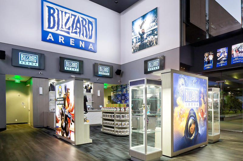 Blizzard Los Angeles E Sports Arena 2017 October Opening