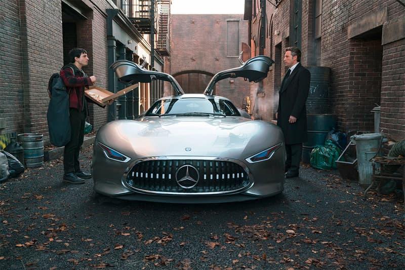 Mercedes Benz AMG Vision Gran Turismo Bruce Wayne Batman Justice League Car Supercar Concept