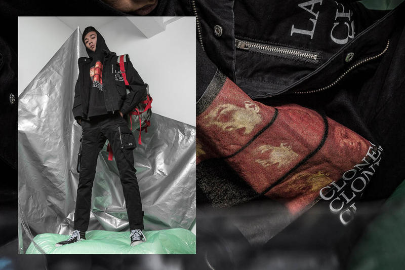 C2H4 Collection Fall/Winter 2017 Post Apocalypse HBX Editorial