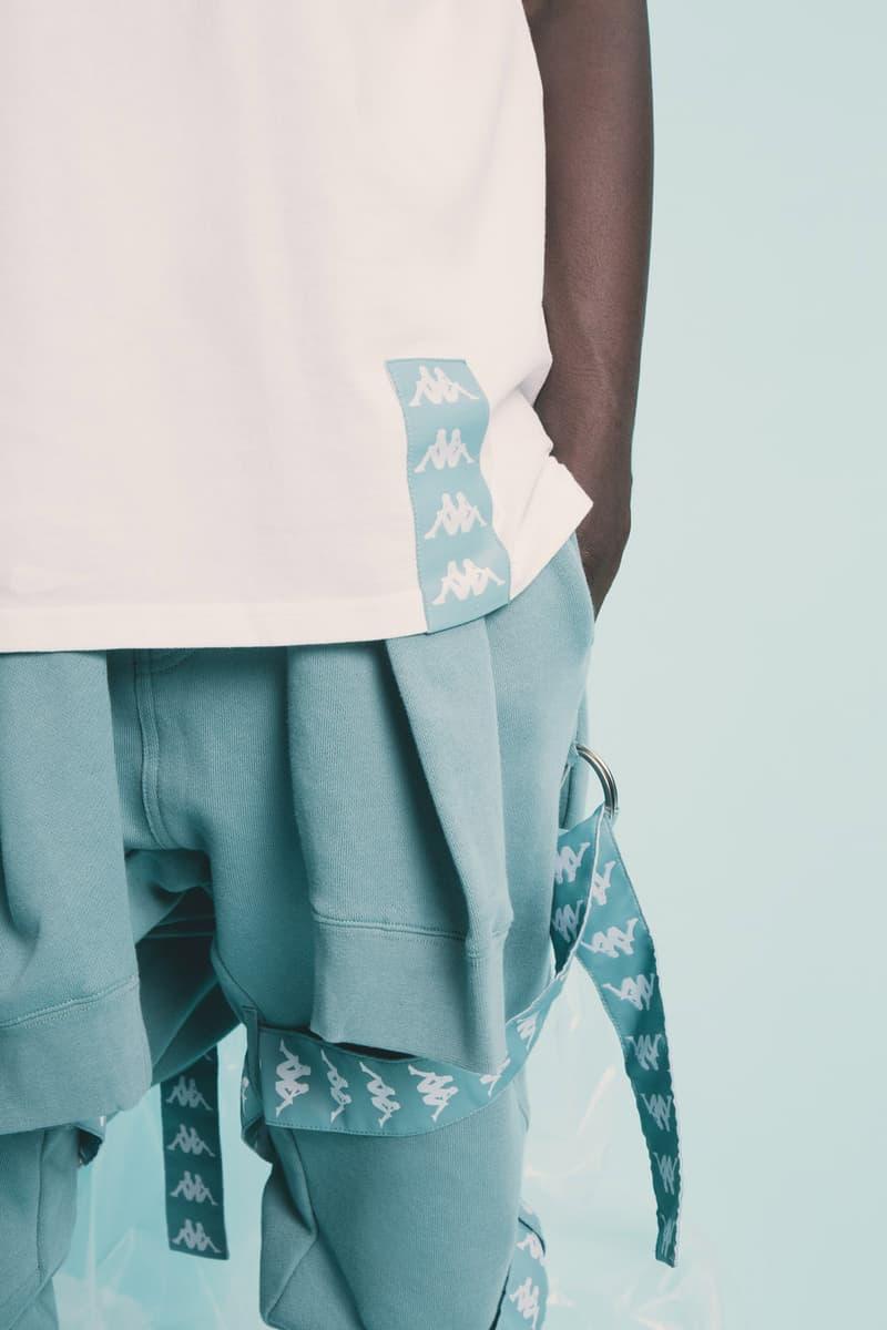 C2H4 Kappa Streetwear Sportswear Fashion Clothing Apparel HBX Editorial Release Info Date