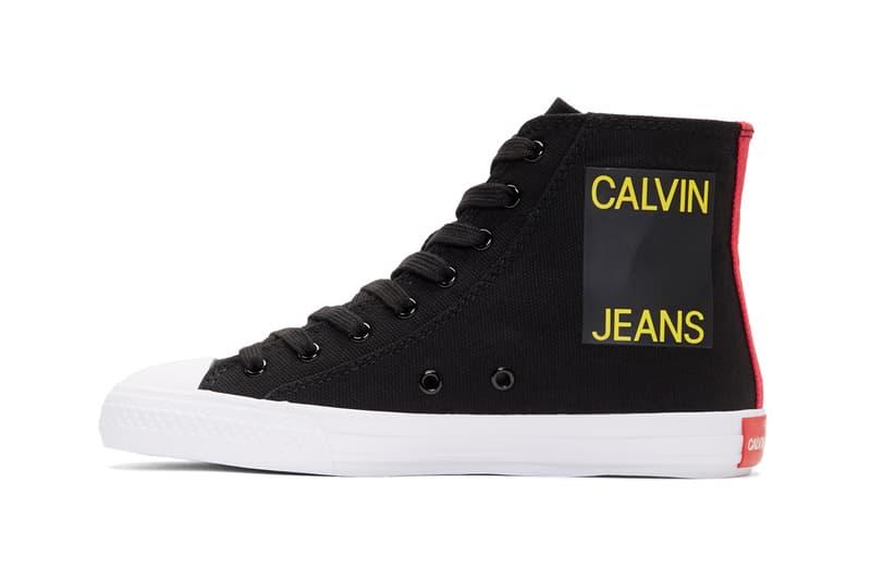 Calvin Klein 205W39NYC Constantine 135 High-Top White Black Calvin Klein Jeans