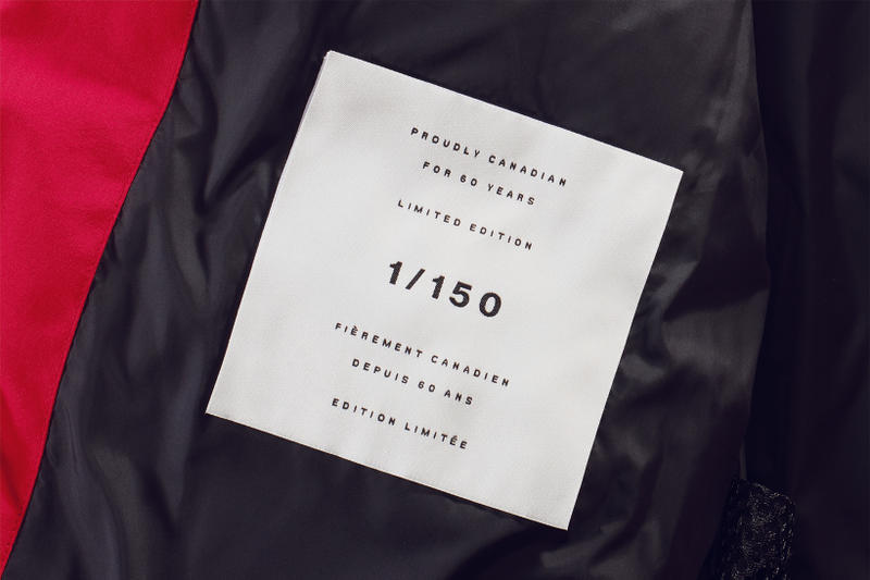 Canada Goose Limited Edition Canada Coat 2017 October 20 Release Date Info Red Black