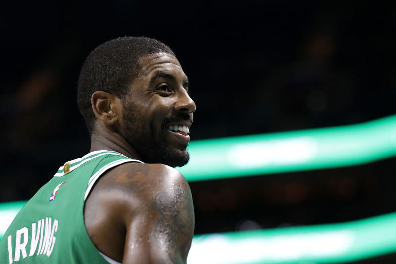 Boston Celtics Kyrie Irving Cleveland Cavaliers