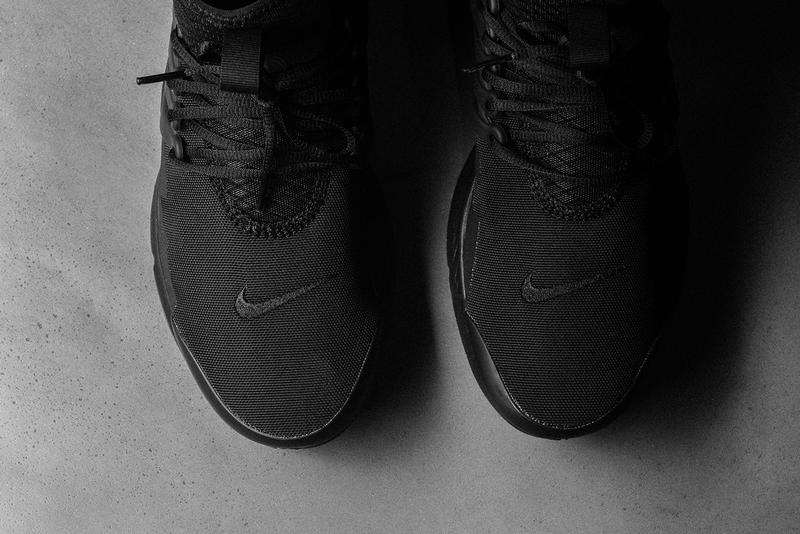 Nike Air Presto Mid Utility Triple Black Fall 2017