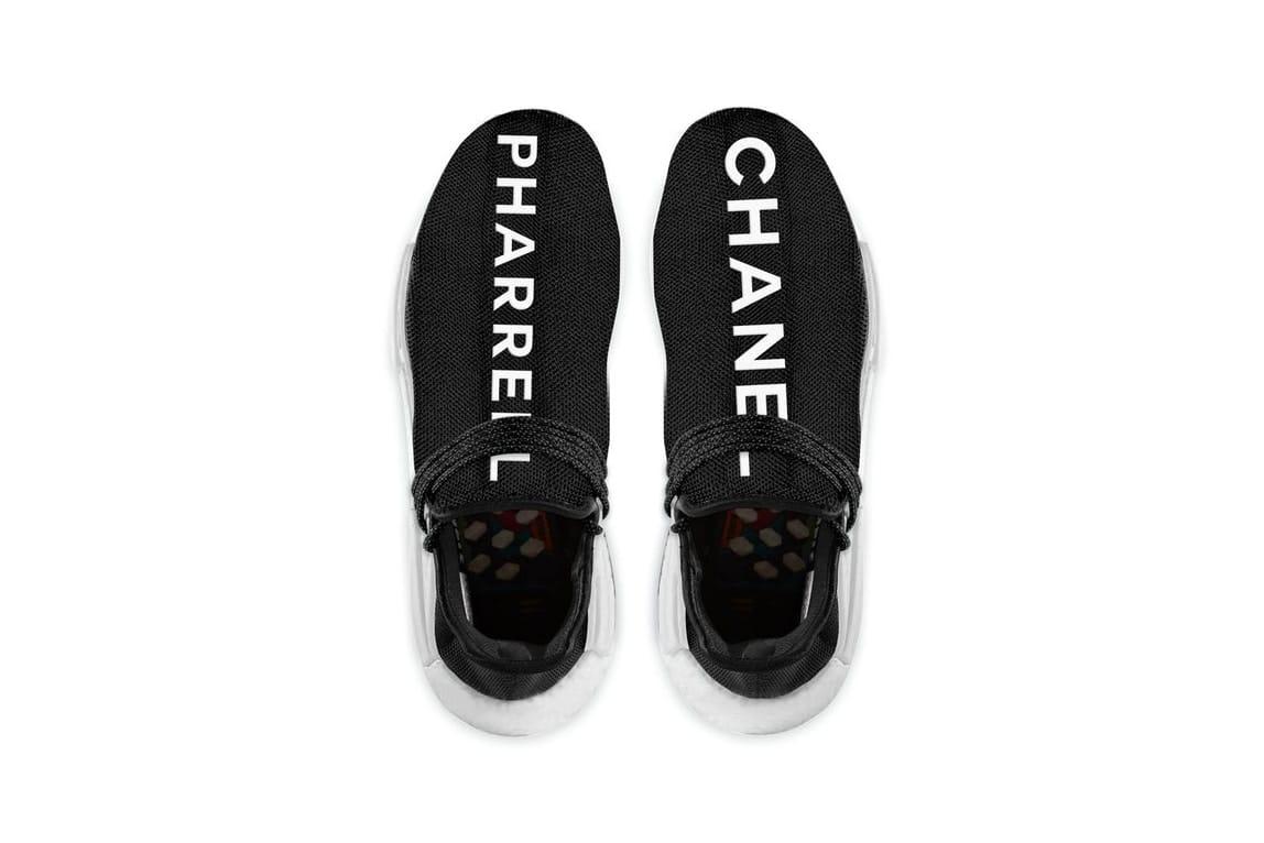 Chanel x Pharrell adidas Hu NMD Release