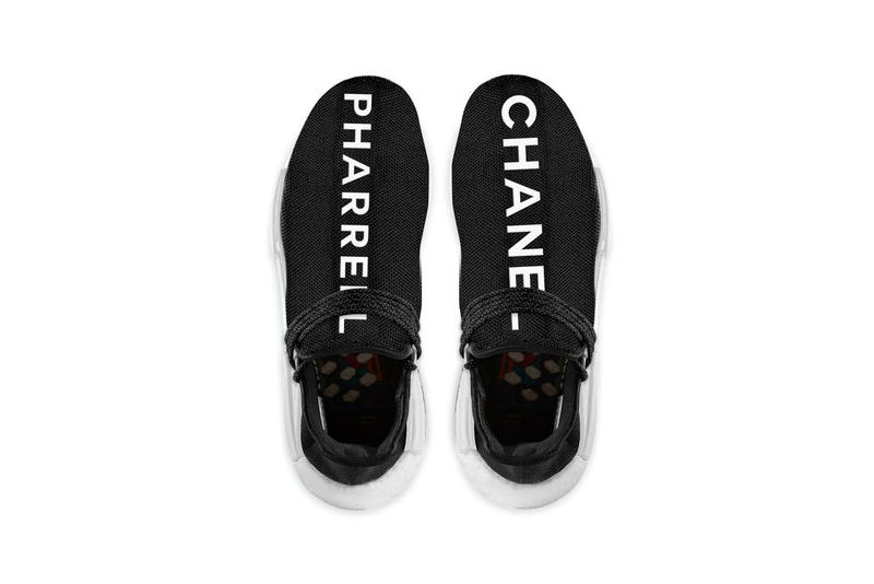 Chanel Pharrell Williams adidas Originals Hu NMD 2017 November 21 Release Date Info colette Sneakers Shoes Footwear Takeover Drops