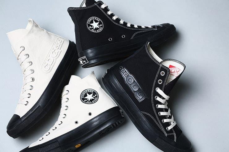 70cafe7090fed3 COMME des GARÇONS Converse Chuck Taylor Sneaker Black White
