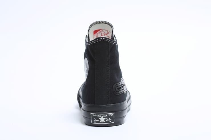 COMME des GARÇONS Converse Chuck Taylor Sneaker Black White