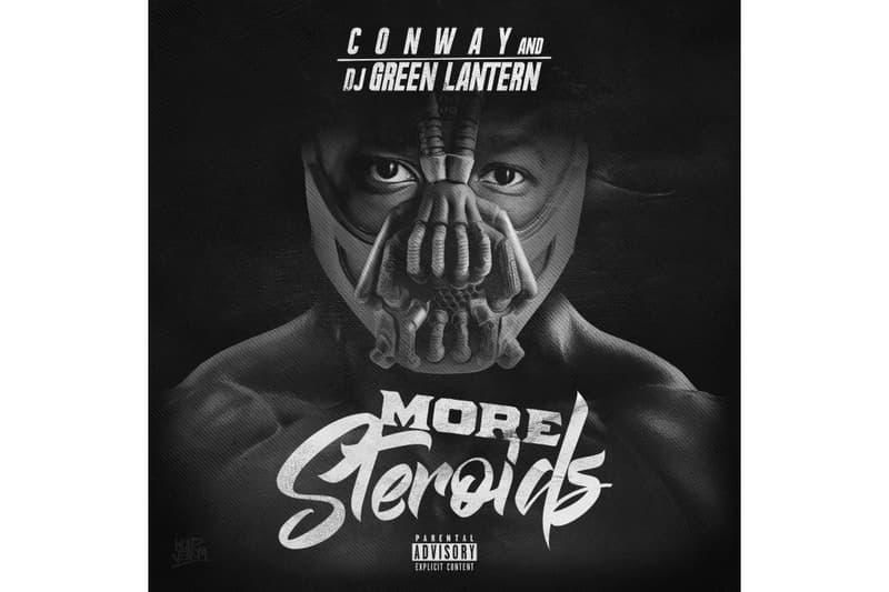 Conway DJ Green Lantern More Steroids Mixtape 2017 October 19 Release Mixtape