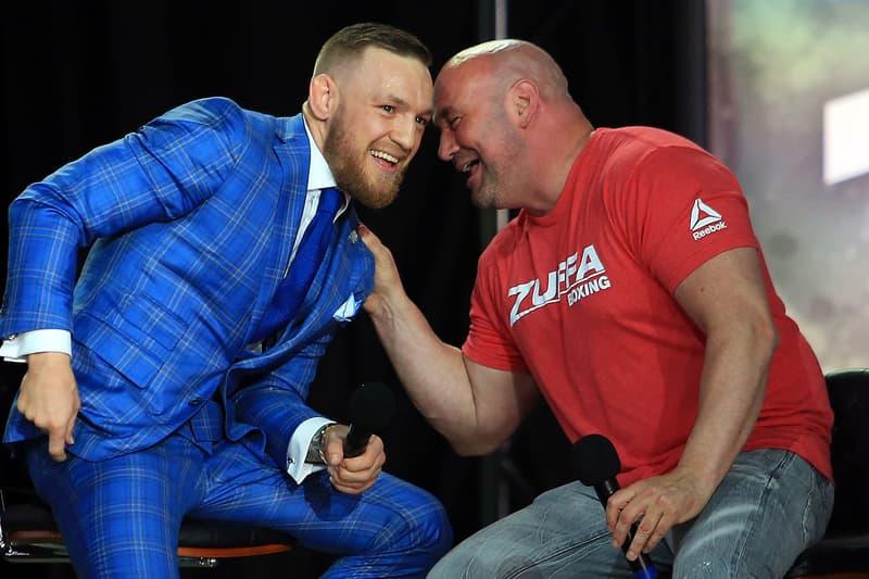 Dana White Conor McGregor Tony Ferguson UFC Fight