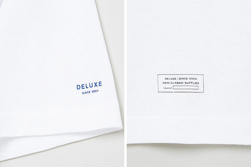 DELUXE x Hanes White T-Shirt