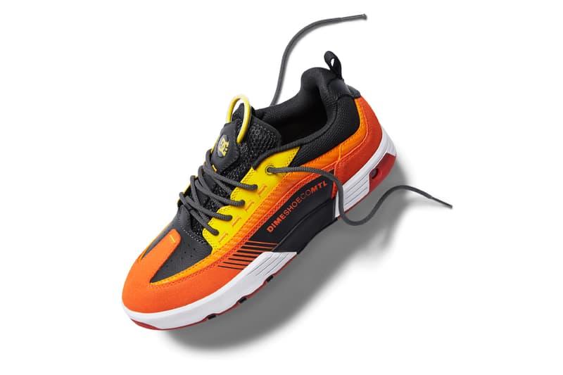 Dime DC Shoes Skate Shoe Collaboration