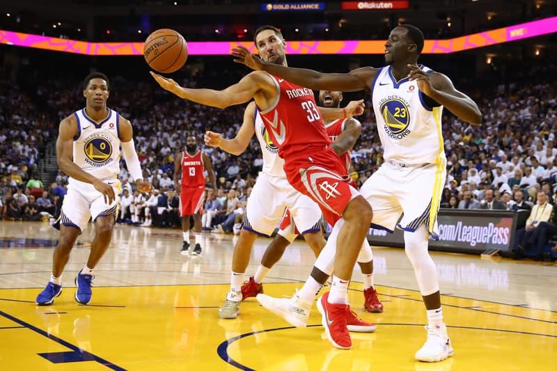 Draymond Green Off-White™ Nike Hyperdunk 2017 Virgil Abloh Golden State Warriors NBA