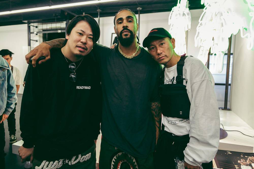 READYMADE Maxfield LA Pop-Up Store Launch BAPE Fear of God Just Don