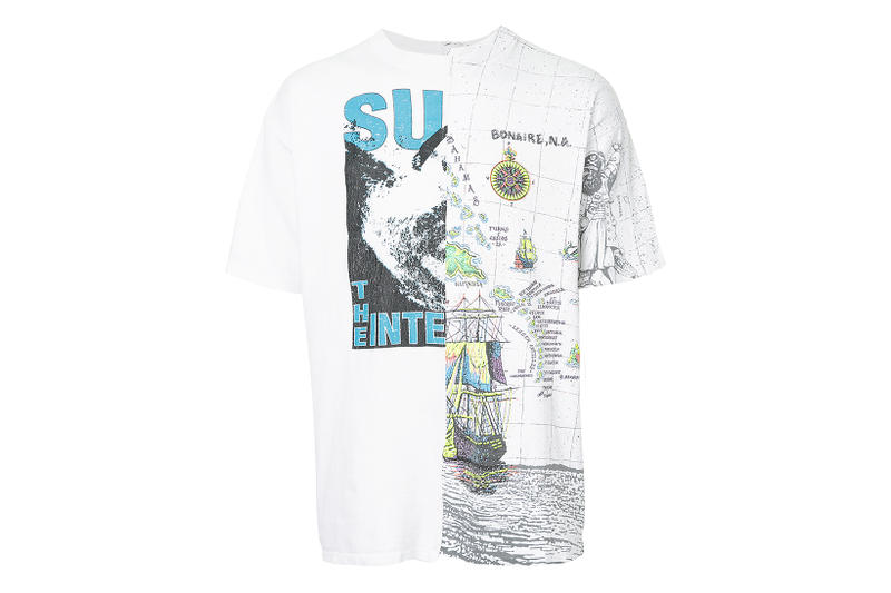 EX Infinitas T-Shirt Capsule Collection Fall Winter 2017 Stussy S/Double