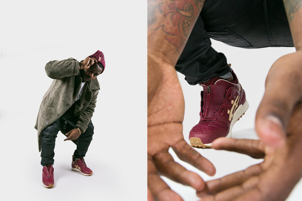 Extra Butter Ghostface Killah ASICS GEL Lyte MT Footwear Release Info Date Drops November 7 2017
