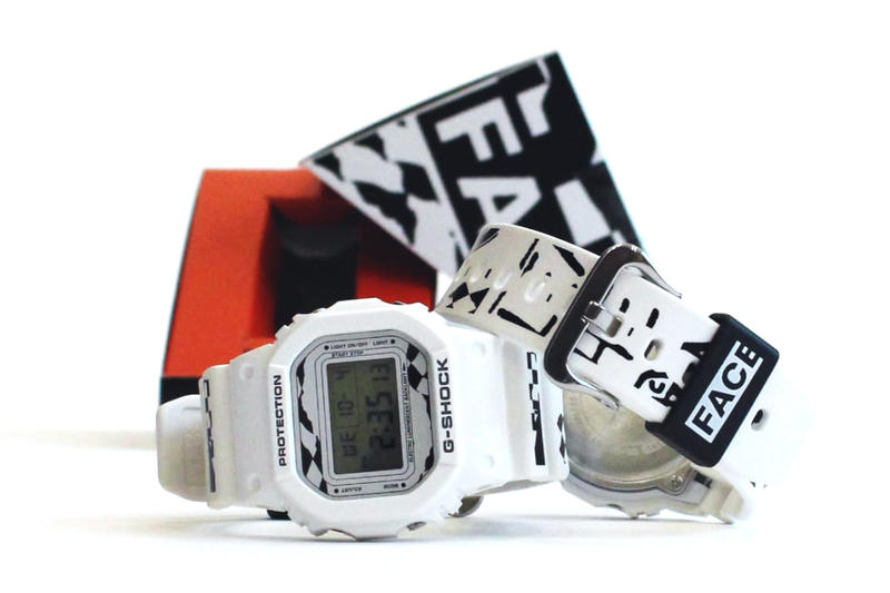 FACETASM Casio G SHOCK DW 5600 Black White Watch Collaboration 2017 December 15 Release Date Info Drop Japan