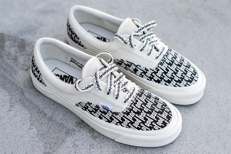 8e80632782a Fear of God Vans Collection 2 November 17 Release Date Vans Authentic Vans  Style 147