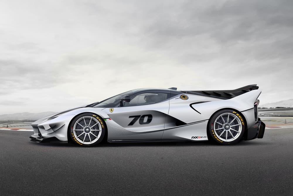 Ferrari FXX K Evo Official Unveiled Debut Unveil 2017 October Finali Mondiali Mugello car supercar hypercar