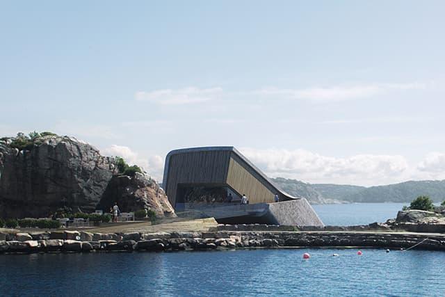 First Underwater Restaurant in Norway