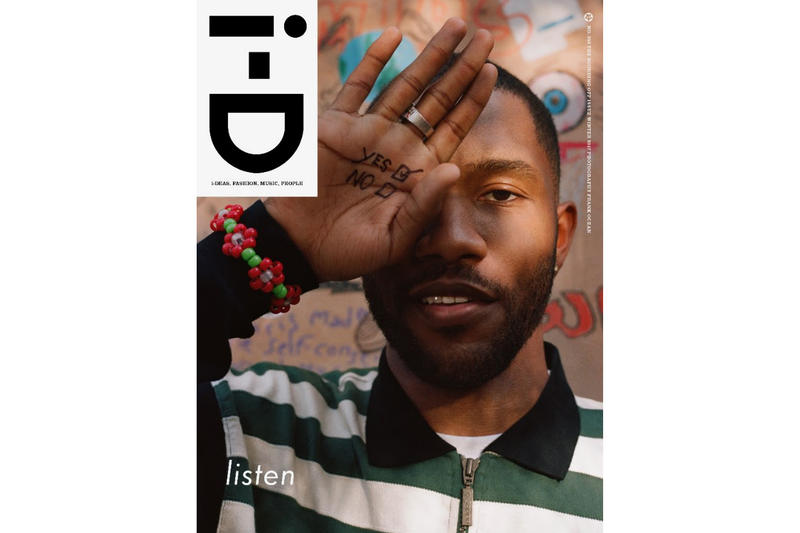 Frank Ocean Covers the 'i-D' Winter 2017 Issue | HYPEBEAST