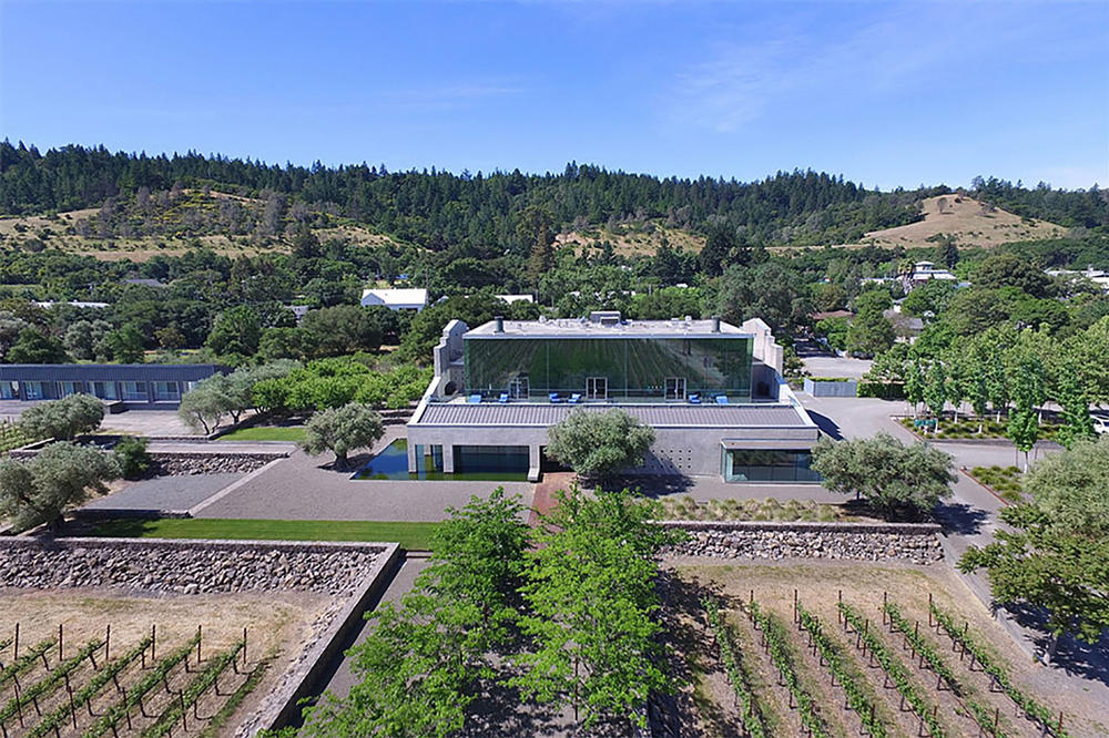 Geyserville Vineyard Home House Industrial Architecture California Buildings