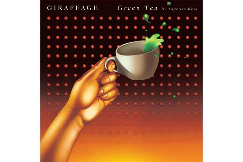 Giraffage Angelica Bess Green Tea Single Stream 2017 October 18 Release