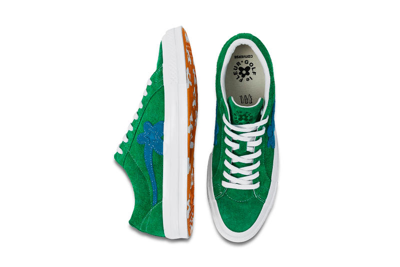 Tyler, The Creater Golf Le Fleur x Converse One Star Closer Look