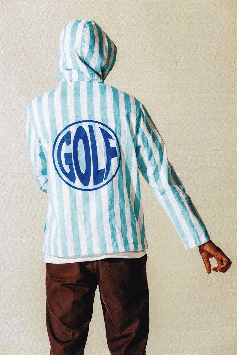 Golf Wang Fall Winter 2017 Collection Lookbook Tyler The Creator floers suit pink fur shorts odd future jumpsuit bubble down coat jacket pajamas