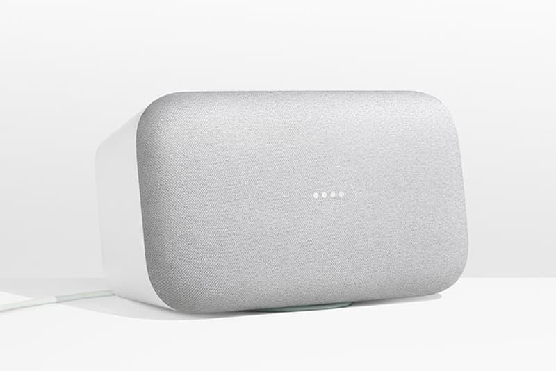 Google Home Max Mini Smart Speakers 2017 October 4 Keynote