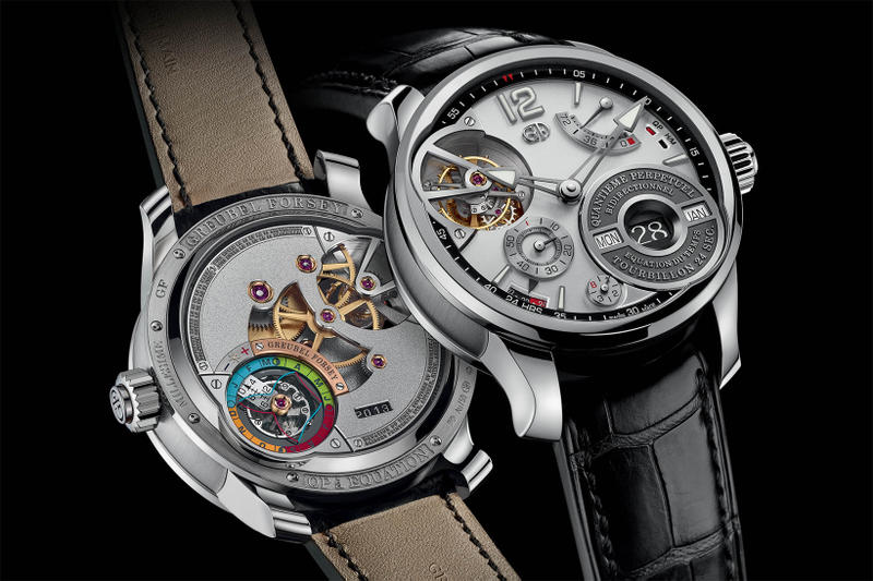 Greubel Forsey QP a Equation Watch Rhodium Colored Gold Dial 2017 October Release