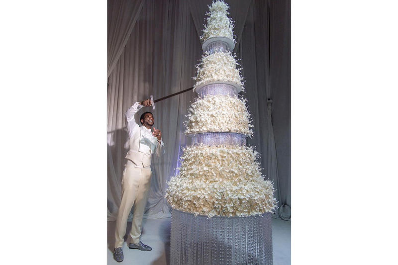 Gucci Mane Wedding Cake Sword Keyshia Ka'oir
