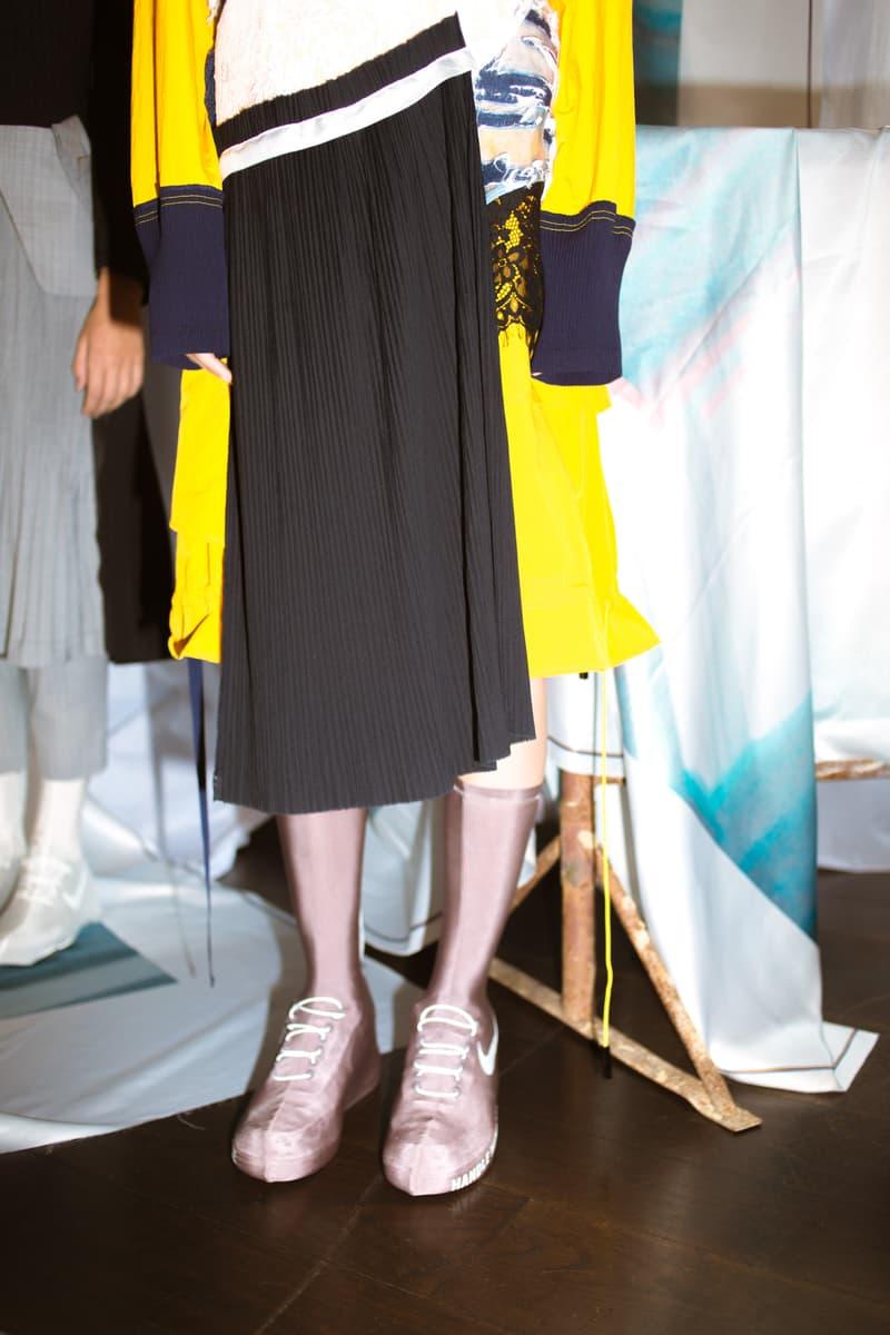 Haizhen Wang Spring Summer 2018 Collection Shaghai Fashion Week Nike Air Force 1