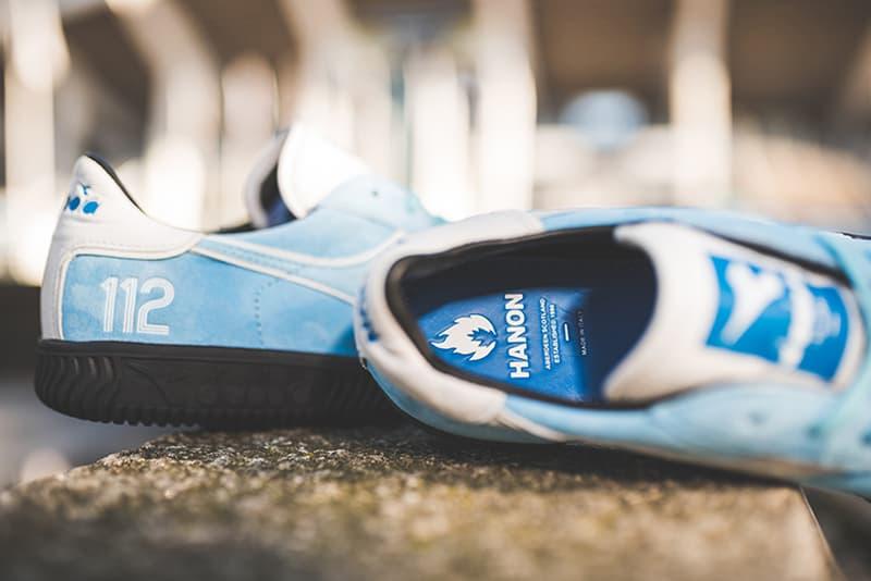 Hanon Diadora St Clair Squash Sneaker Drop Release Info 2017 October 25 28 Date Collaboration Italy