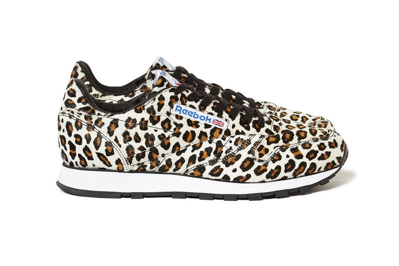 Head Porter Plus Reebok Classic Leather Leopard Print Hairy Calf