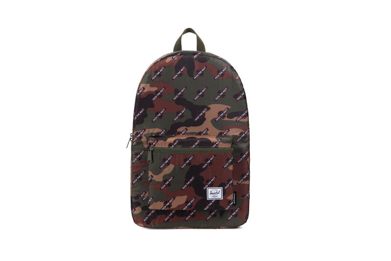 Herschel Supply Co. Independent Truck Company Fuck The Rest Collection Bags Fall Winter 2017