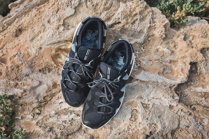 Highs and Lows ASICS Gel Mai Submariner Collaboration 2017 October 14 Release Date Info Sneakers Shoes Footwear