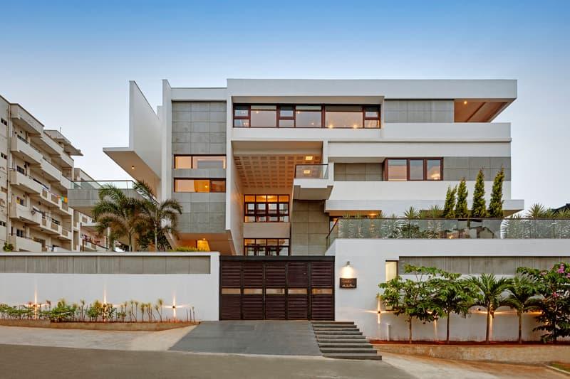 SDeG Architects Visakhapatnam Minimalist Concrete HKS House India